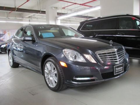 Certified Pre-Owned 2013 Mercedes-Benz E 350 AWD 4MATIC®