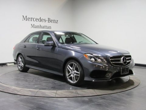 Certified Pre-Owned 2014 Mercedes-Benz E 350 Sport AWD 4MATIC®