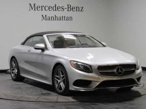 New 2017 Mercedes-Benz S-Class S 550 Sport RWD CABRIOLET