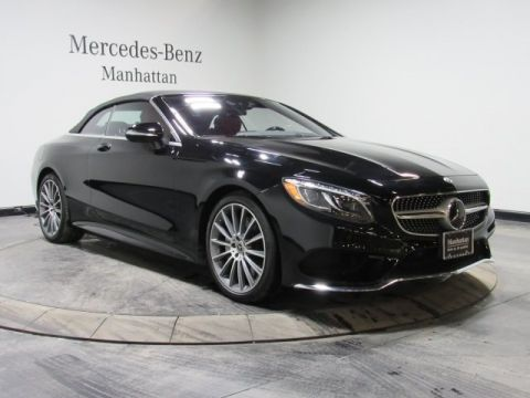 Certified Pre-Owned 2017 Mercedes-Benz S 550 Sport