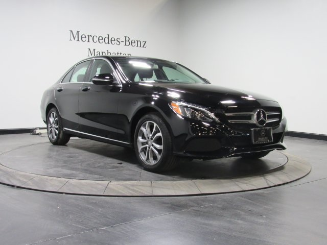 Certified pre owned 2015 mercedes benz c class c 300 sedan for Pre owned mercedes benz ny
