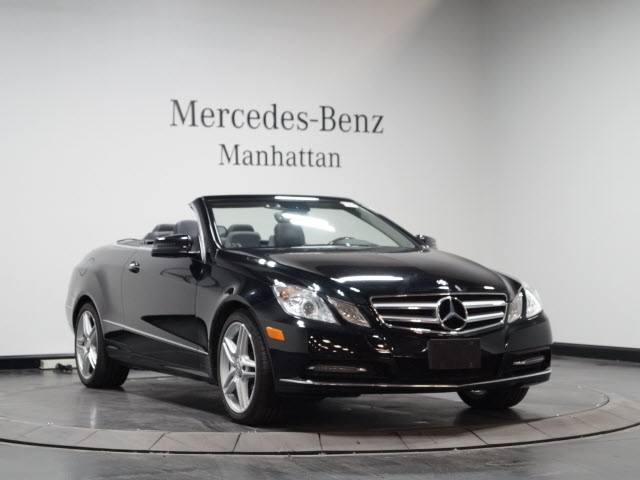 Certified pre owned 2013 mercedes benz e class cabriolet for Pre owned mercedes benz ny