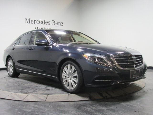 Certified pre owned 2015 mercedes benz s class s 550 sedan for Pre owned mercedes benz ny