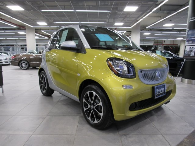 Certified Pre-Owned 2017 smart Fortwo electric drive Base