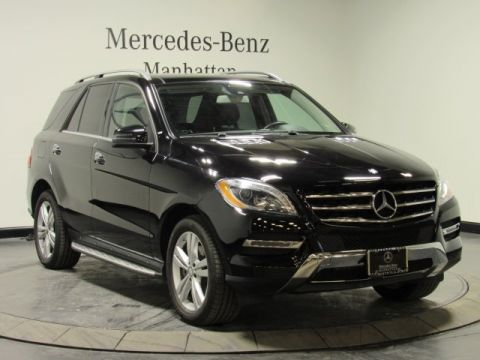 Certified pre owned 2014 mercedes benz m class ml 350 suv for Pre owned mercedes benz suv