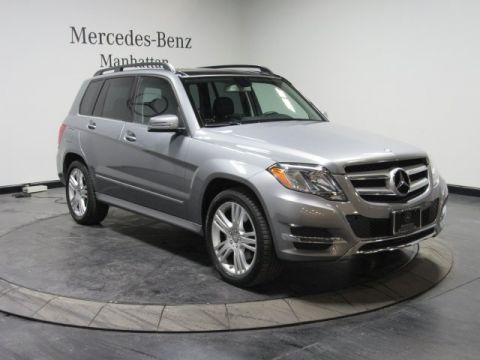 Certified pre owned 2015 mercedes benz glk 350 4d sport for Pre owned mercedes benz ny