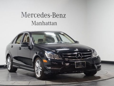 Certified pre owned 2014 mercedes benz c class coupe in for Pre owned mercedes benz ny